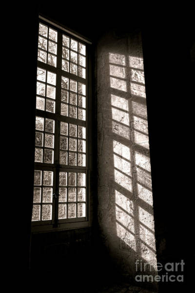 Window Photograph - Light And Shadows by Olivier Le Queinec