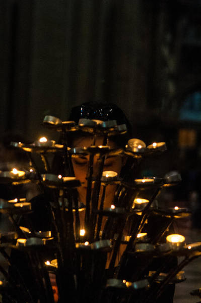 Photograph - Light Another Candle by Alex Lapidus