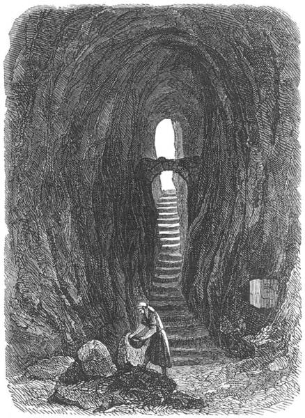 Folklore Drawing - 'light At The End Of The Tunnel' by Mary Evans Picture Library