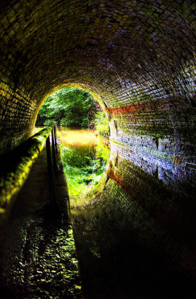 Photograph - Light At The End Of The Tunnel by Meirion Matthias
