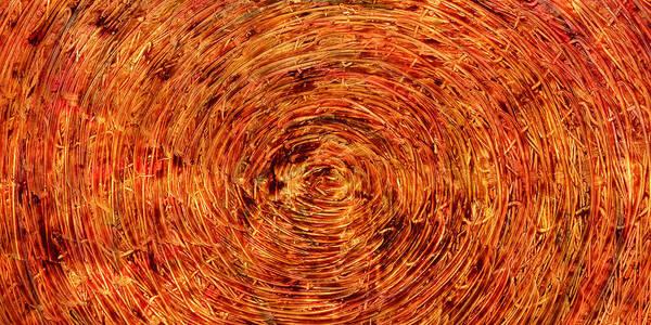 Mixed Media - Light Circles by Sami Tiainen