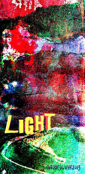 Wall Art - Digital Art - Light by Currie Silver