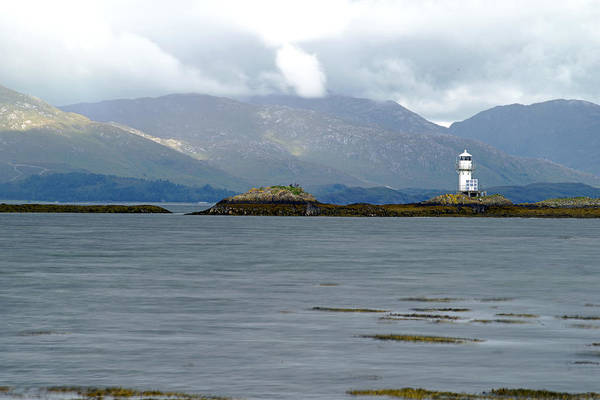 Photograph - Light House In Scotland Uk by Dubi Roman