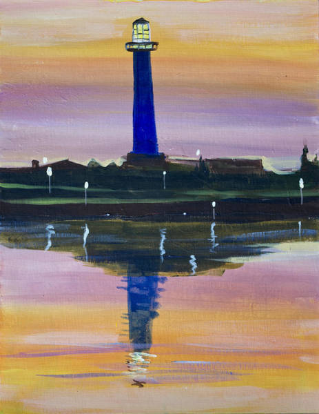 Painting - Light House by Richard Fritz