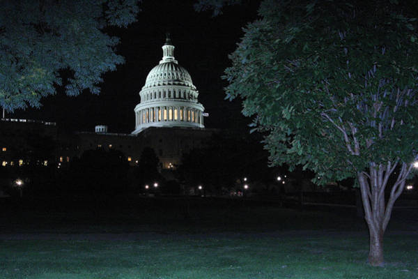 Usa Wall Art - Photograph - Light In The Capitol by Frank Savarese
