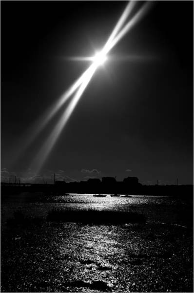 Medway Wall Art - Photograph - Light In The Sky by Nigel Jones