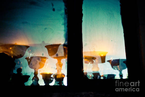 Photograph - Light In Window Near  Stupa Boudhanath  by Raimond Klavins