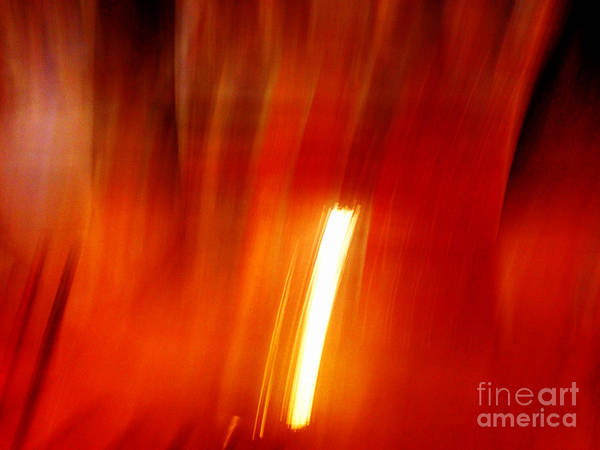 Photograph - Light Intrusion by Cristina Stefan