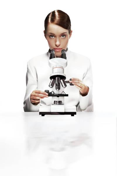 Microscope Wall Art - Photograph - Light Microscopy by Coneyl Jay/science Photo Library