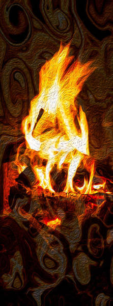 Painting - Light My Fire I by Omaste Witkowski