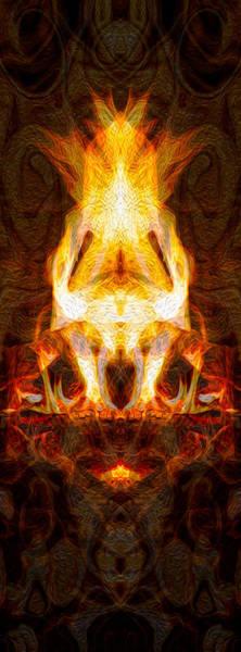 Painting - Light My Fire II by Omaste Witkowski