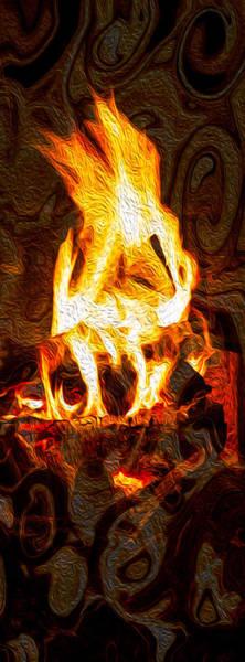 Painting - Light My Fire IIi by Omaste Witkowski