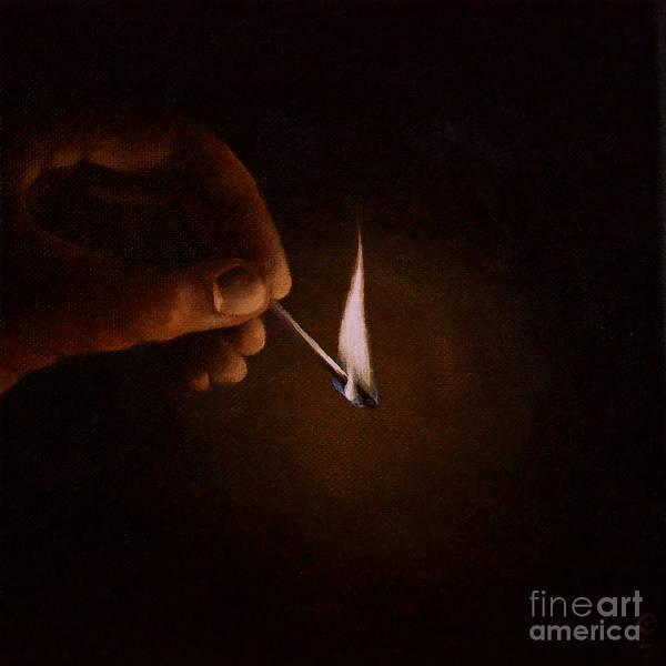Painting - Light My Way V by Ric Nagualero