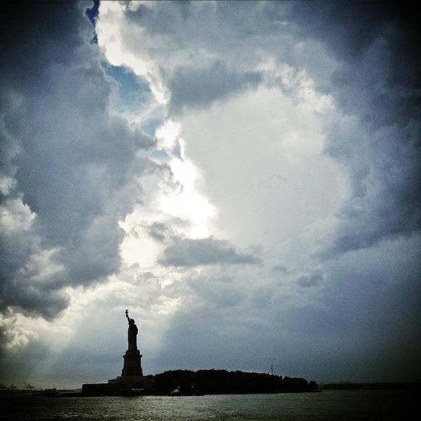 Photograph - Light Of Liberty by Natasha Marco