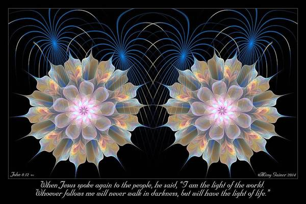 Digital Art - Light Of Life by Missy Gainer
