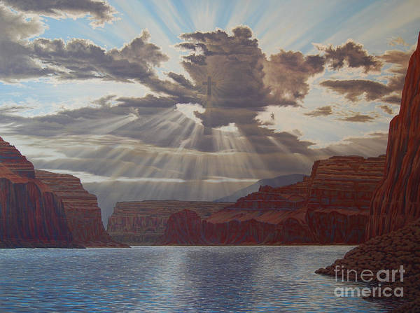 Painting - Light Of The World by Cheryl Fecht