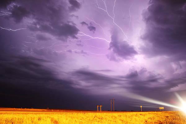 Photograph - Light Show Over Yorkton by Ryan Crouse