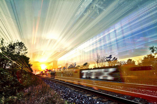 Wall Art - Photograph - Light Speed by Matt Molloy