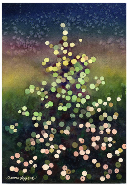 Wall Art - Painting - Light Up The Season by Anne Gifford