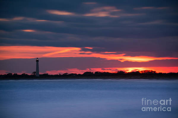 Cape May Lighthouse Photograph - Light Up The Way by Michael Ver Sprill