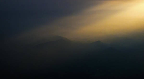 Photograph - Light Upon The Mountains by Greg Reed