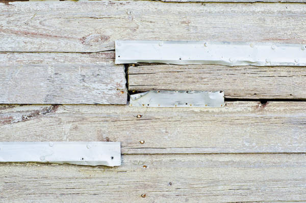 Photograph - Light Weathered Wall by Lynn Hansen