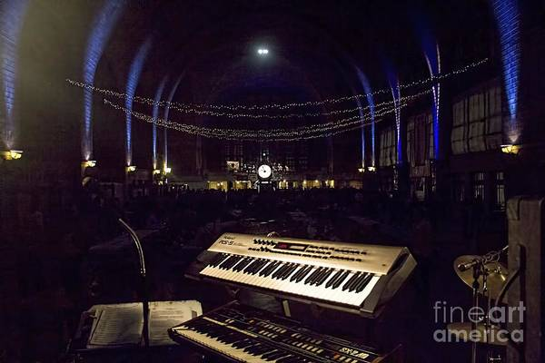 Photograph - Lighted Keyboard by Jim Lepard