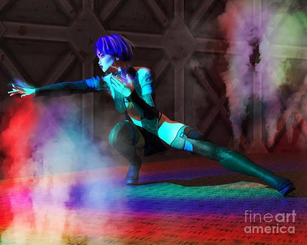 Digital Art - Lightening by Elle Arden Walby