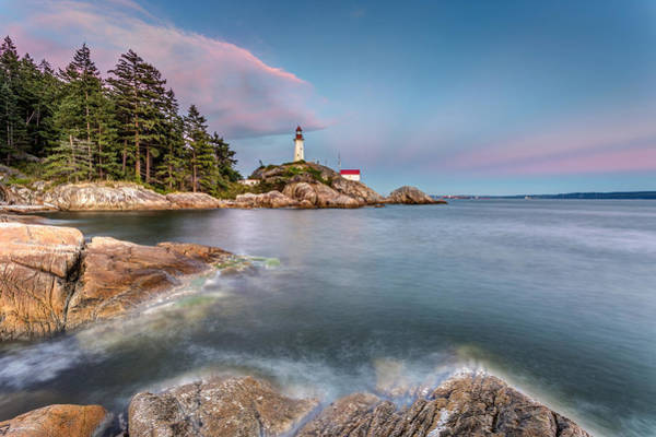 Photograph - Lighthouse At Dusk by Pierre Leclerc Photography