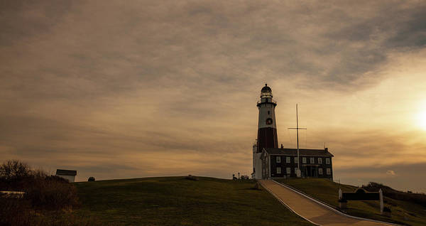 Photograph - Lighthouse At Montauk Point, Long by Alex Potemkin