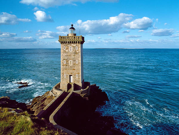 Panoramic Images - Lighthouse At The Coast, Kermorvan
