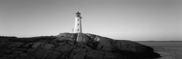 Municipality Photograph - Lighthouse At The Coast, Peggys Point by Panoramic Images