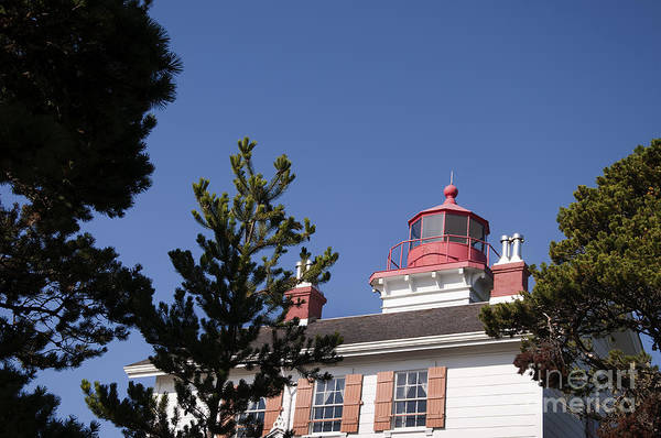 Photograph - Lighthouse At Yaquina Bay by Brenda Kean