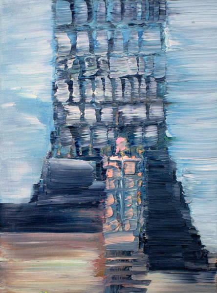 Rungs Wall Art - Painting - Lighthouse by Fabrizio Cassetta