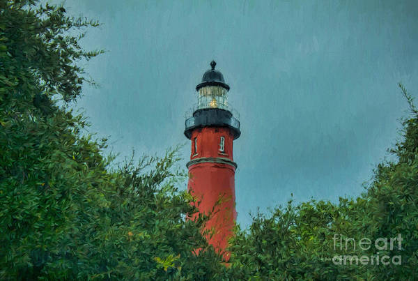 Painting - Lighthouse In Ponce by Deborah Benoit