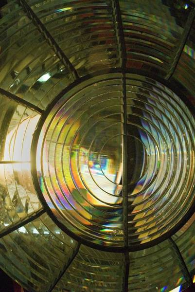Fresnel Lens Wall Art - Photograph - Lighthouse Lens by Steve Horrell/science Photo Library