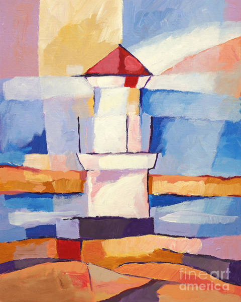 Painting - Lighthouse by Lutz Baar
