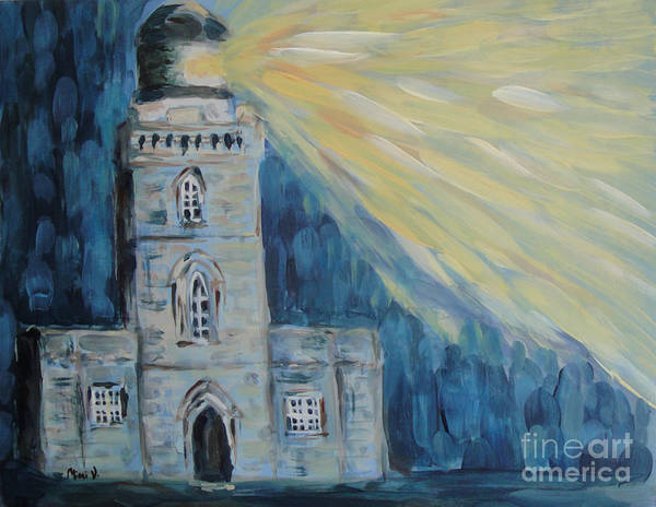 Painting - Lighthouse by Maria Langgle