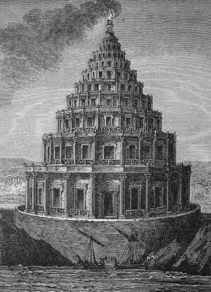 Wonders Of The World Photograph - Lighthouse Of Alexandria by Bildagentur-online/th Foto/science Photo Library