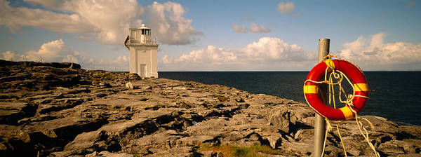 The Burren Photograph - Lighthouse On A Landscape, Blackhead by Panoramic Images