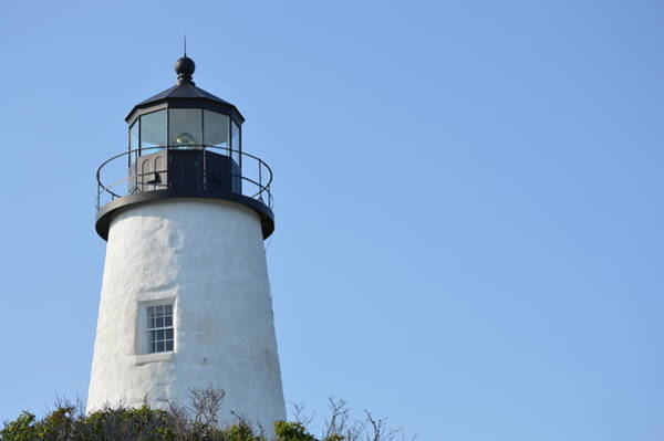 Photograph - Lighthouse On Clear Day by Chris Alberding