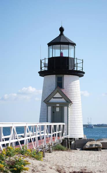 Photograph - Lighthouse On Nantucket by Lori Tambakis