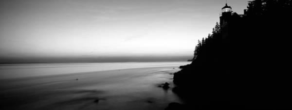 Lighthouse On The Coast, Bass Head Art Print