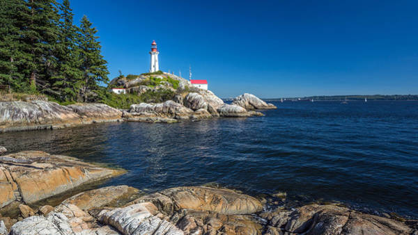 Photograph - Lighthouse Park Vancouver Bc by Pierre Leclerc Photography