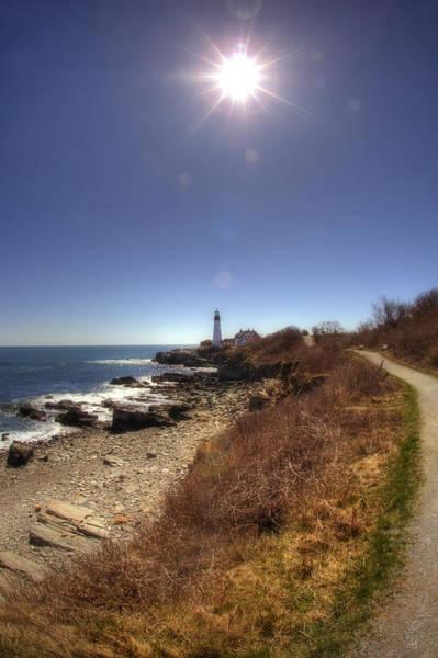 Photograph - Lighthouse Path by Joann Vitali