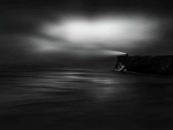 Sea Rocks Photograph - Lighthouse Rock by Christoph Hessel