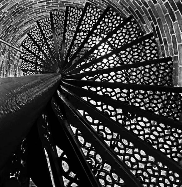 Photograph - Lighthouse Spiral by Robert Mitchell