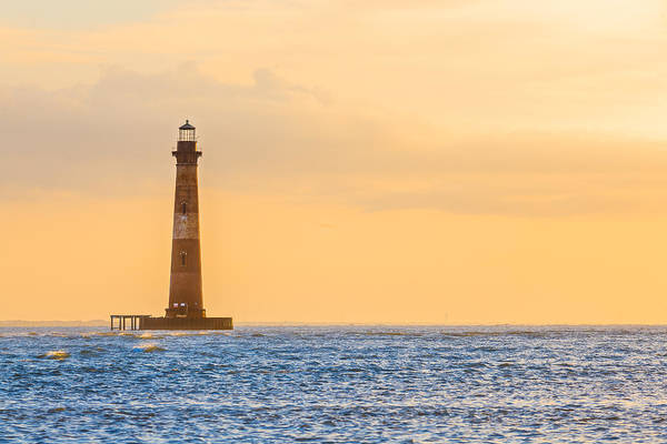 Photograph - Lighthouse Sunrise by Keith Allen