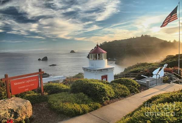 Photograph - Lighthouse Walk by Adam Jewell