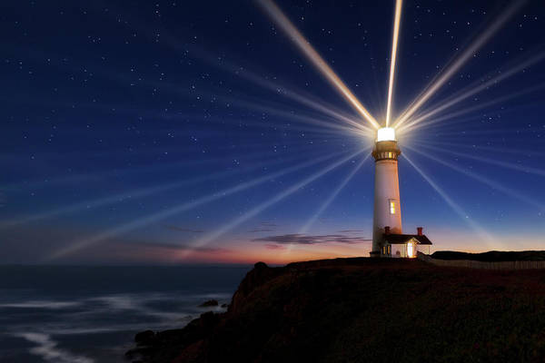 Wall Art - Photograph - Lighting Of The Lens by Miles Morgan